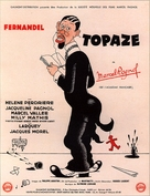Topaze - French Movie Poster (xs thumbnail)