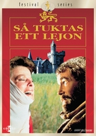 The Lion in Winter - Swedish DVD cover (xs thumbnail)