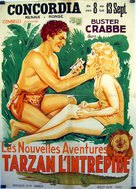 Tarzan the Fearless - Belgian Movie Poster (xs thumbnail)