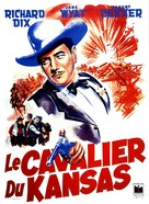 The Kansan - French Movie Poster (xs thumbnail)