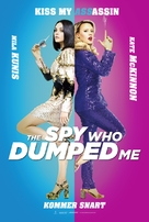 The Spy Who Dumped Me - Danish Movie Poster (xs thumbnail)
