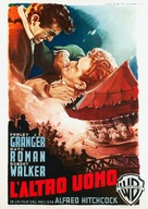 Strangers on a Train - Italian Movie Poster (xs thumbnail)