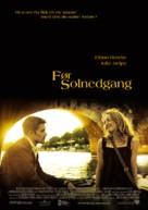 Before Sunset - Norwegian Movie Poster (xs thumbnail)