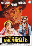 Home from the Hill - Spanish Movie Poster (xs thumbnail)