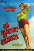 Sommaren med Monika - Argentinian Movie Poster (xs thumbnail)