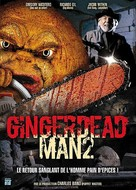 Gingerdead Man 2: Passion of the Crust - French DVD cover (xs thumbnail)
