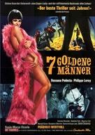 Sette uomini d'oro - German Movie Poster (xs thumbnail)