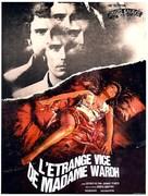 La strano vizio della Signora Wardh - French Movie Poster (xs thumbnail)