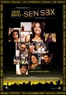 Saas bahu aur Sensex - Indian Movie Poster (xs thumbnail)