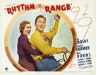 Rhythm on the Range - poster (xs thumbnail)