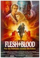 Flesh And Blood - German Movie Poster (xs thumbnail)