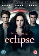 The Twilight Saga: Eclipse - British DVD movie cover (xs thumbnail)