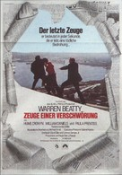 The Parallax View - German Movie Poster (xs thumbnail)