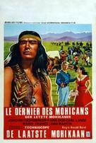 Der letzte Mohikaner - Belgian Movie Poster (xs thumbnail)