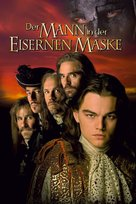 The Man In The Iron Mask - German Movie Cover (xs thumbnail)