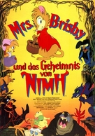 The Secret of NIMH - German Movie Poster (xs thumbnail)