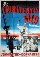 Raiders of the Seven Seas - Swedish Movie Poster (xs thumbnail)