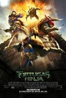 Teenage Mutant Ninja Turtles - Argentinian Theatrical movie poster (xs thumbnail)