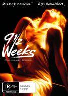 Nine 1/2 Weeks - Australian DVD cover (xs thumbnail)