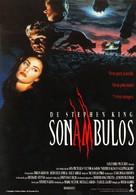 Sleepwalkers - Spanish Movie Poster (xs thumbnail)