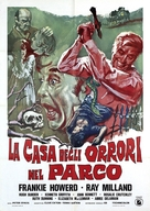The House in Nightmare Park - Italian Movie Poster (xs thumbnail)