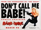 Barb Wire - British Movie Poster (xs thumbnail)