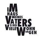 Im Haus meines Vaters sind viele Wohnungen - Swiss Logo (xs thumbnail)