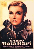Mata Hari - Spanish Movie Poster (xs thumbnail)