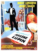 Aventures d'Arsène Lupin, Les - French Movie Poster (xs thumbnail)