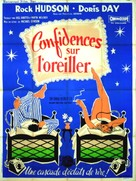 Pillow Talk - French Movie Poster (xs thumbnail)