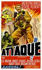 Attack - Belgian Movie Poster (xs thumbnail)