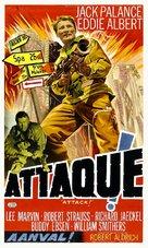 Attack - Belgian Movie Poster (xs thumbnail)