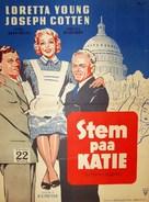 The Farmer's Daughter - Danish Movie Poster (xs thumbnail)