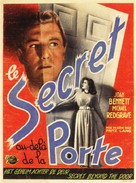 Secret Beyond the Door... - Belgian Movie Poster (xs thumbnail)
