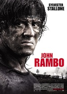 Rambo - German Movie Poster (xs thumbnail)