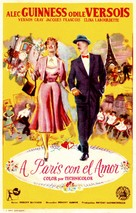 To Paris with Love - Spanish Movie Poster (xs thumbnail)