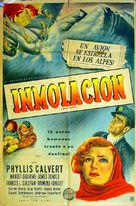 Broken Journey - Argentinian Movie Poster (xs thumbnail)