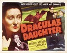 Dracula's Daughter - Re-release movie poster (xs thumbnail)