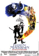 The Adventures of Baron Munchausen - Spanish Movie Poster (xs thumbnail)