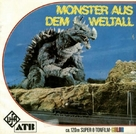 Kaijû sôshingeki - German Movie Cover (xs thumbnail)