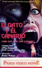 The Cat and the Canary - Argentinian VHS cover (xs thumbnail)