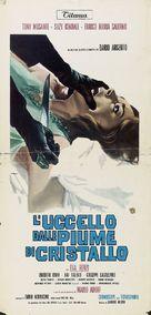 L'uccello dalle piume di cristallo - Italian Movie Poster (xs thumbnail)