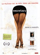 Secretary - Spanish DVD cover (xs thumbnail)