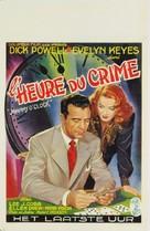 Johnny O'Clock - Belgian Movie Poster (xs thumbnail)