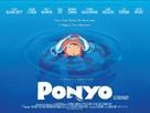 Gake no ue no Ponyo - British Movie Poster (xs thumbnail)