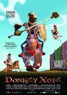 Donkey Xote - Spanish Movie Poster (xs thumbnail)