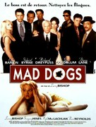 Mad Dog Time - French Movie Poster (xs thumbnail)