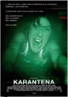 Quarantine - Croatian Movie Poster (xs thumbnail)