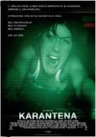 Quarantine - Croatian Movie Poster (xs thumbnail)