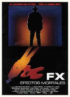 F/X - Spanish Movie Poster (xs thumbnail)
